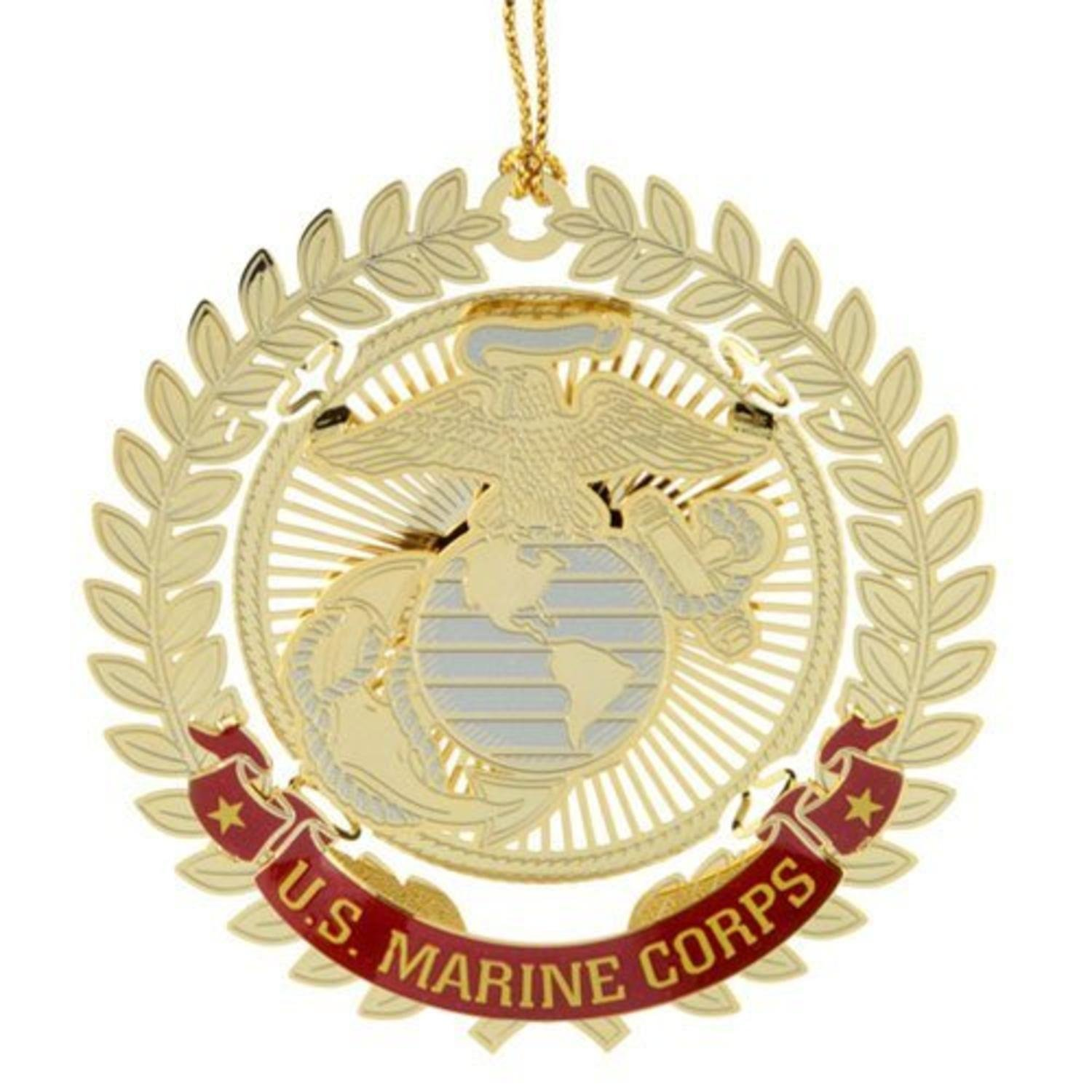 United States Marine Corps Logo Christmas Ornament