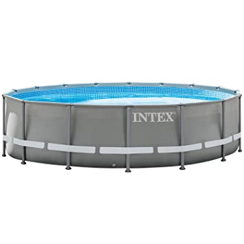 Intex 28924 - Marco de metal para piscina, 488 x 132 cm.: Amazon.es: Jardín