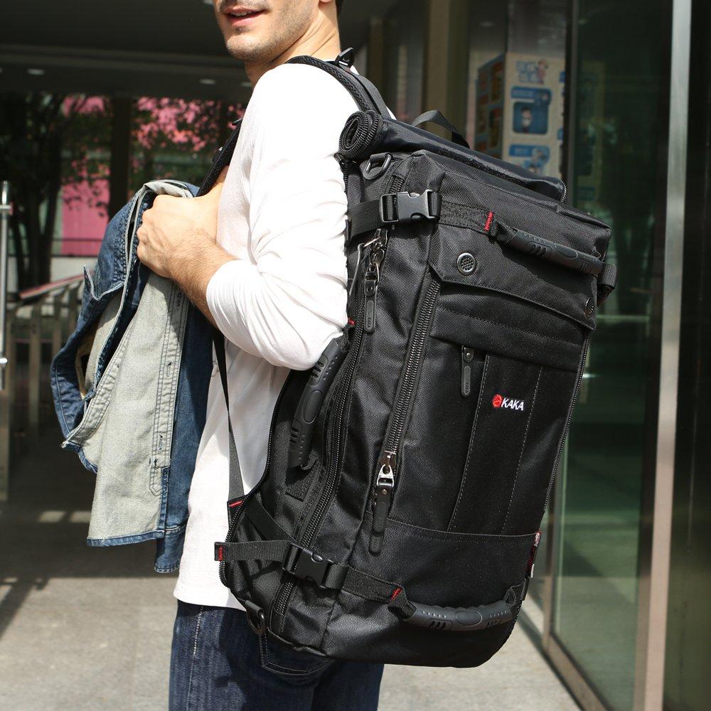 KAKA Classic Laptop Backpack for 17 Inch Laptops Black
