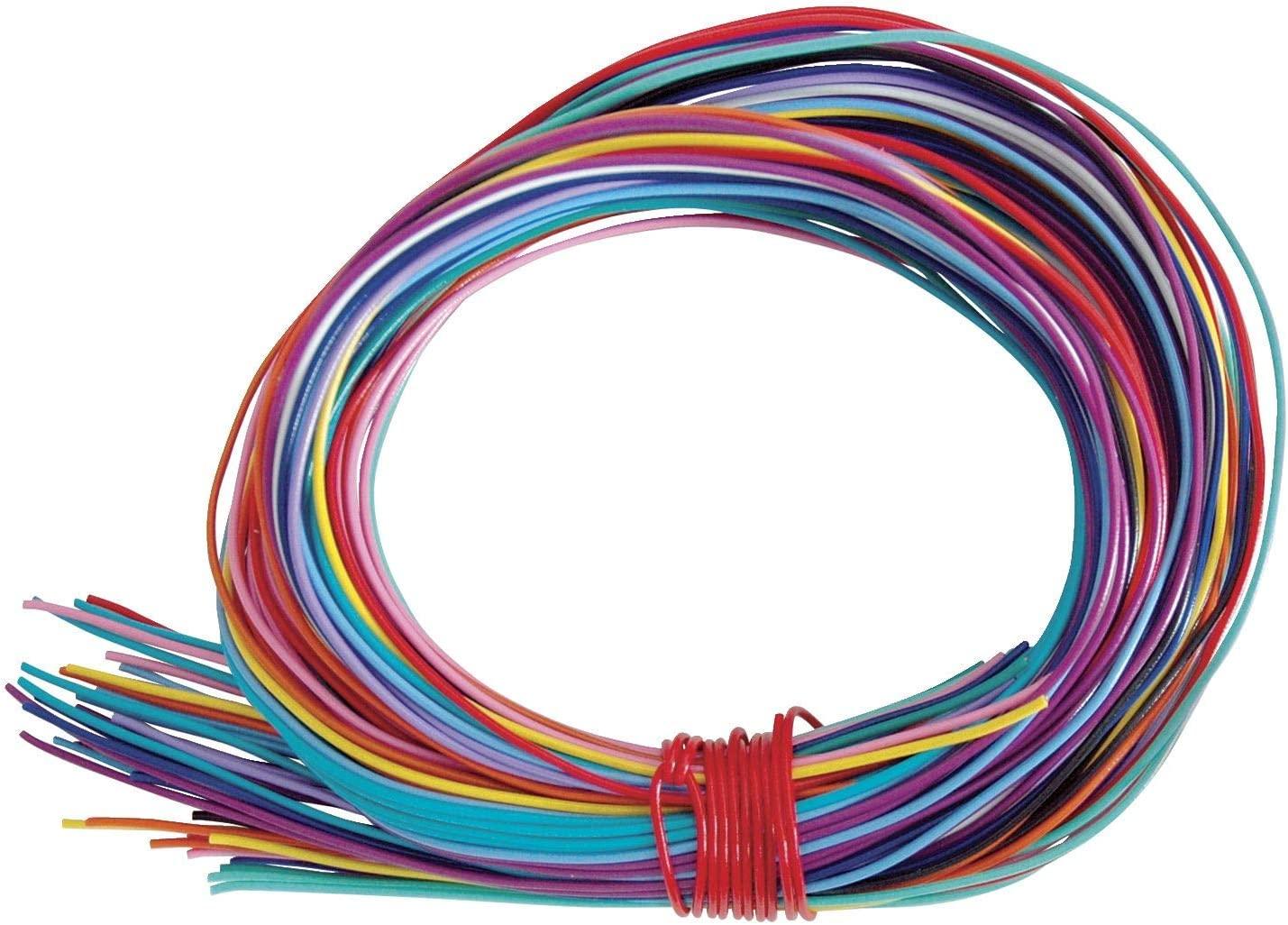 Twisteez Craft Sculpture Wire, 125 ft, Assorted Color, Pack of 50 - 427502