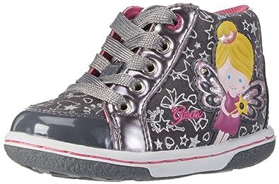 Geox B Flick Girl A, Botines de Senderismo para Bebés, Gris (DK Grey C9002), 20 EU: Amazon.es: Zapatos y complementos