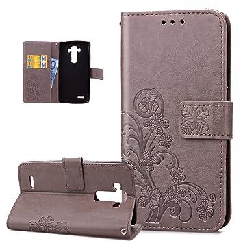 Carcasa LG G4, Funda LG G4, ikasus® Carcasa LG G4 piel ...