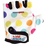 Kiddimoto - GLV011 - Vélo et Véhicule pour Enfant - Paire de Gant - Pastel Dotty