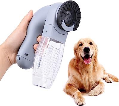 OFKPO Aspirador para Mascotas, Perro Gato de Piel Demovedor Vertió Cepillo Peine Aspirador: Amazon.es: Electrónica