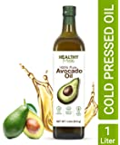 Healthy Muse, Avocado Oil, Chemical Free Oil - 1000 ml