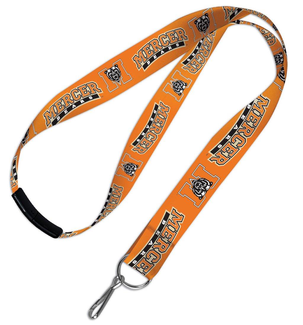 Bundle 2 Items NCAA Mercer University Bears 1 Lanyard with Breakaway Clasp and 1 Premium Badge Reel