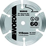 WORX WA5048 WORXSAW 115 mm 60 Grit Diamond Blade