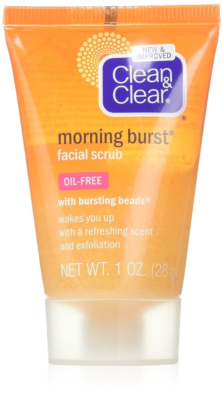 Clean & Clear Morning Burst Facial Scrub, Original, 1 oz - 3 pack