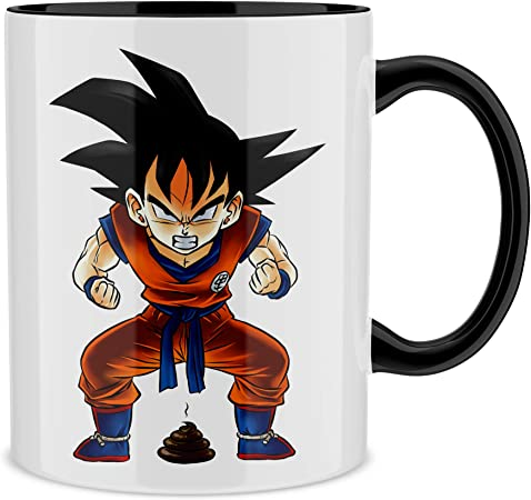 Dragon Ball Z Son Goku Parody Manga Mug 71 Amazon De Kuche Haushalt