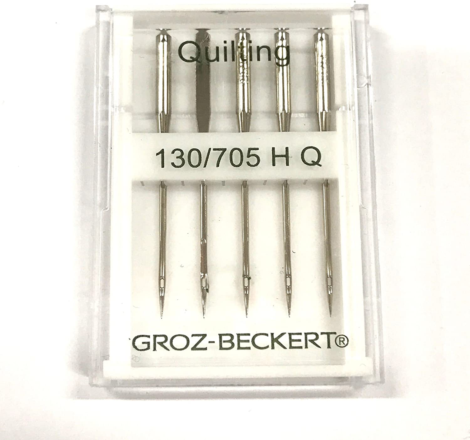Schmetz 130//705H-Q Quilting Needles For Home Sewing Machines 5 Pk