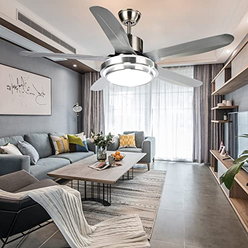 Luxurefan Led Simple Modern Ceiling Fan Light Durable Decoration