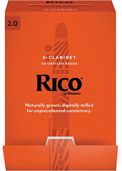 NEW Strength 2.0 3-pack Rico Bb Clarinet Reeds