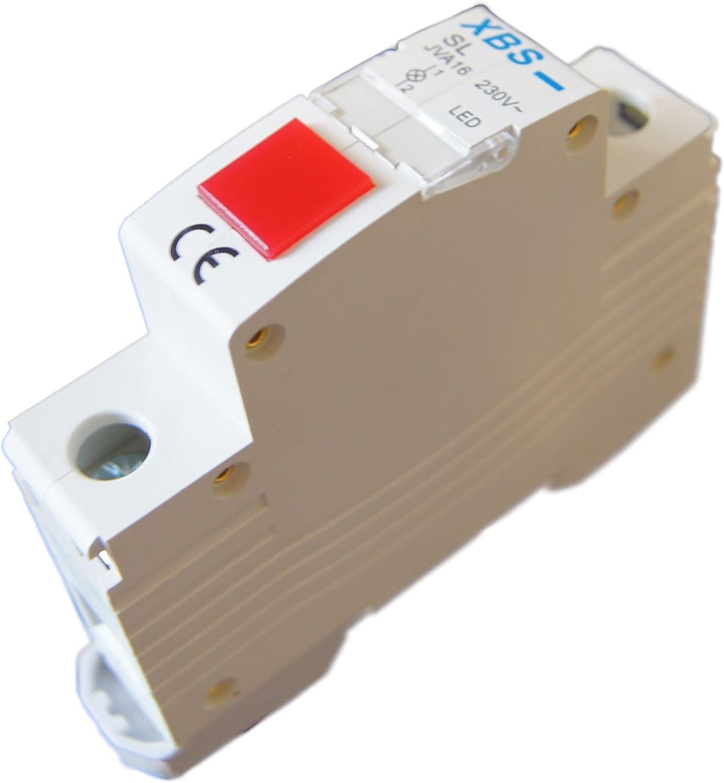 Leuchtmelder Signalleuchte Meldeleuchte Signallampe Phasenkontrolle