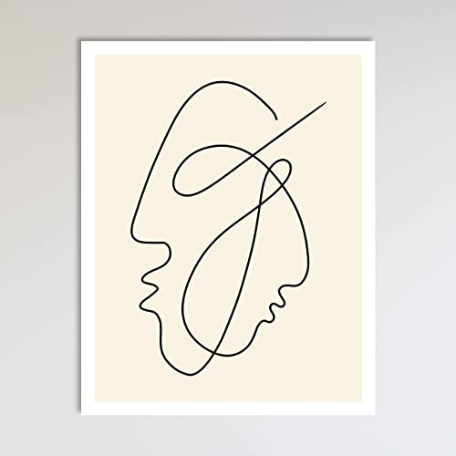 Amazon Com Eternity Abstract Single Line Drawing