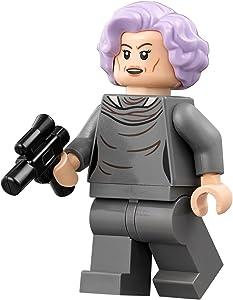 LEGO Star Wars Episode 8 Last Jedi Minifigure - Vice Admiral Holdo (75188)