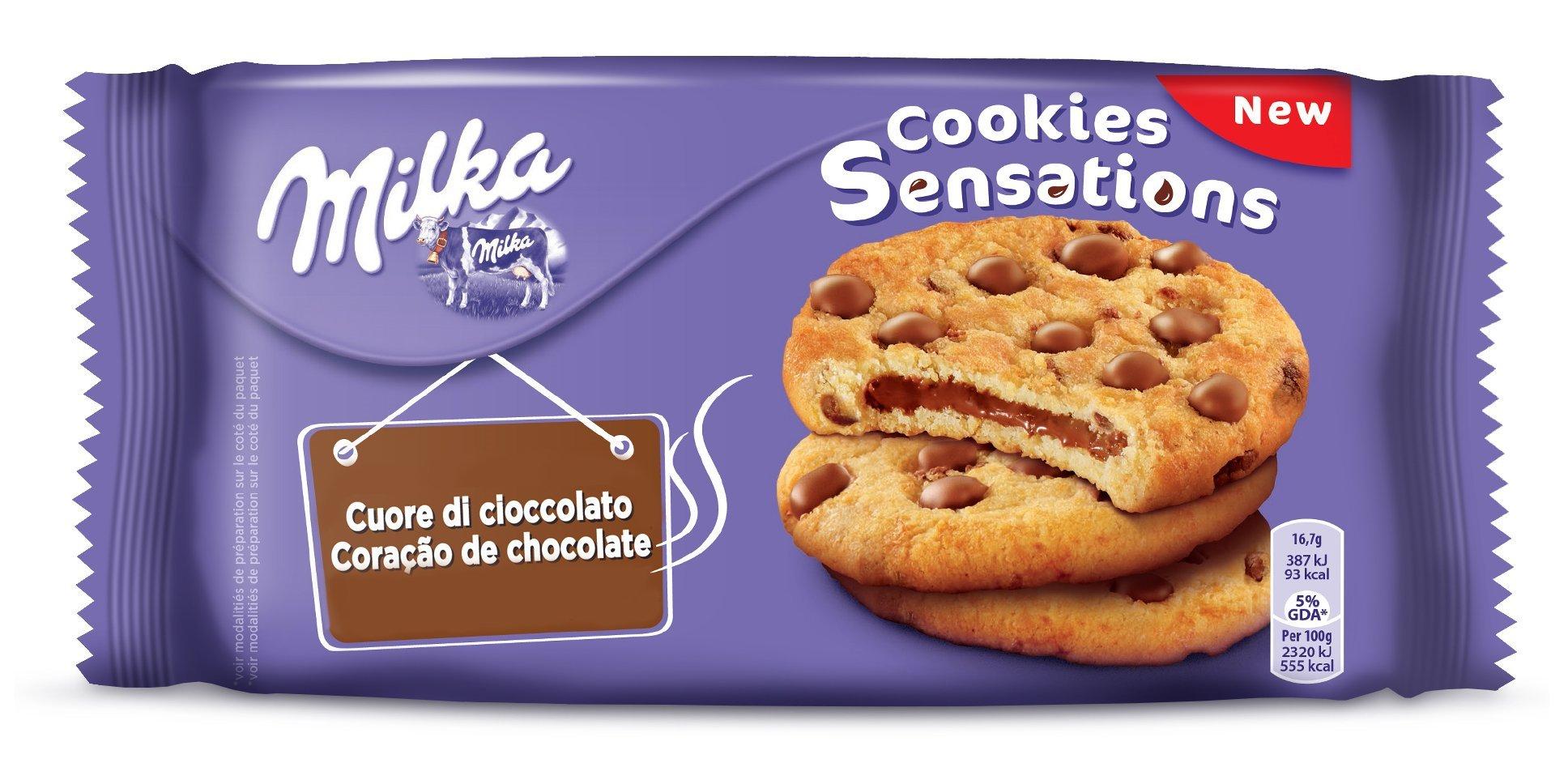 MILKA Cookies Biscuits sensations chocolate heart 156 4013552 sweet snacks