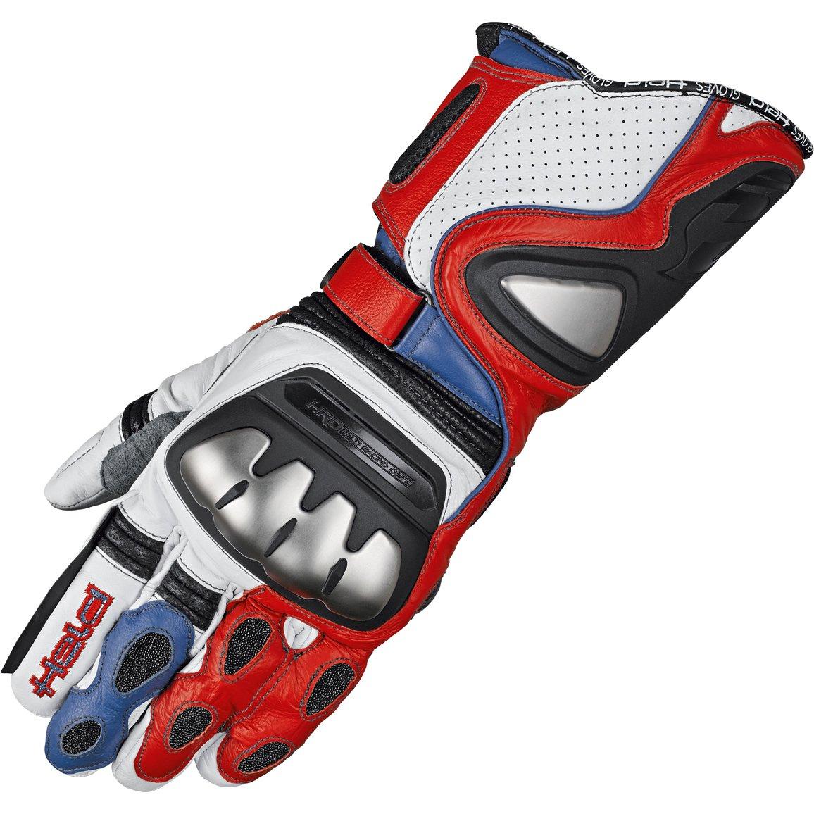 Held Titan Evo Motorradsporthandschuh Gr/ö/ße 7,5 Farbe rot-weiss