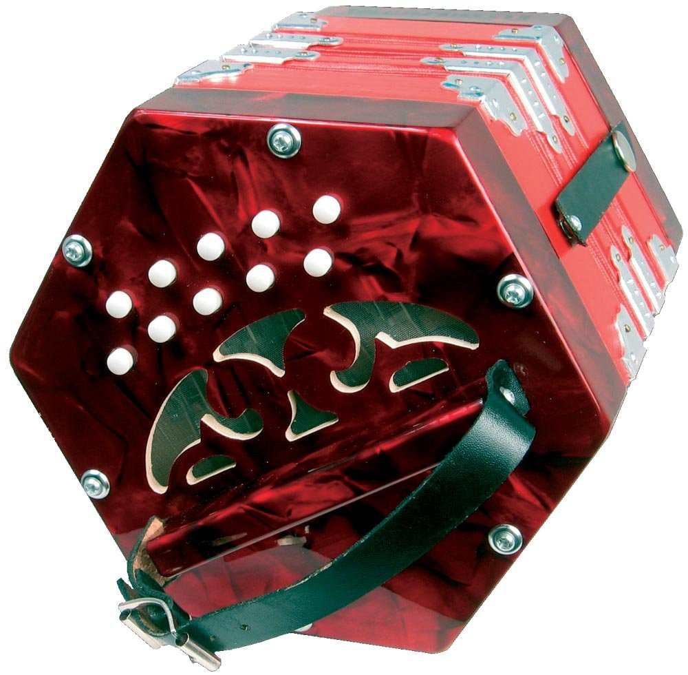 Scarlatti SC-20R Concertina Scarlatti Accordions DC-315 Red