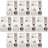 Dermal Korea Collagen Essence Full Face Facial Mask Sheet - Pearl (10 Pack)