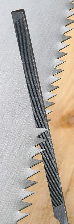 Hochwertige Stahlklingen // Rundfeile // Flachrundfeile // Flachstumpffeile // 3163150 200 mm Feilenl/änge Ergonomische Griffe Meister Feilen- und Raspel-Satz 5-teilig Geeignet f/ür Holz /& Metall