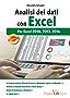 Analisi dei dati con Excel: per Excel 2010, 2013, 2016
