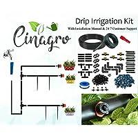 CINAGRO - Drip Irrigation Garden Watering 10 Plants Drip Kit