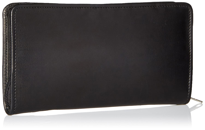 08d88686a529 Piel Leather Executive Travel Wallet, Black