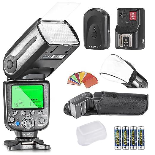 9 opinioni per Neewer® NW565EX i-TTL Slave Flash Speedlite Kit per Nikon D4, D3s, D3x, D3,