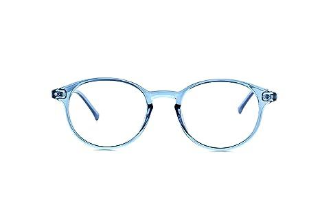My Blue Protect® W001 Gafas de protección contra la luz azul, antifatiga, con filtro UV, diseño unisex--, W001, Bleu Jeans