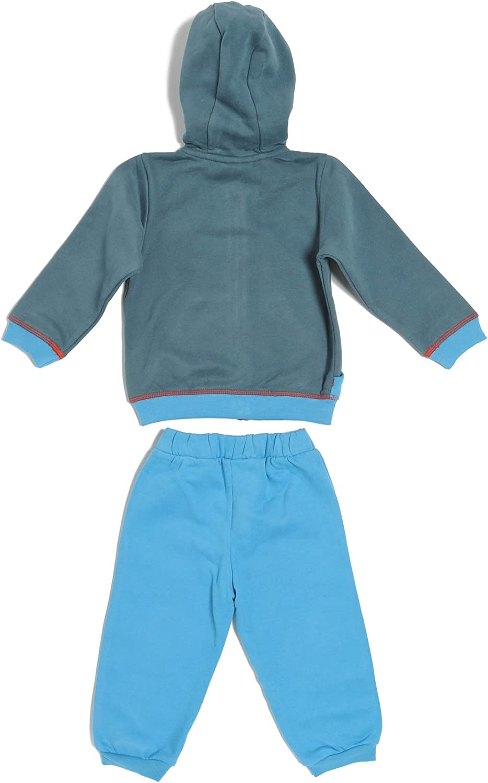 Puma – Chándal Story para bebé, Color Grigio/Turchese, tamaño 36 ...