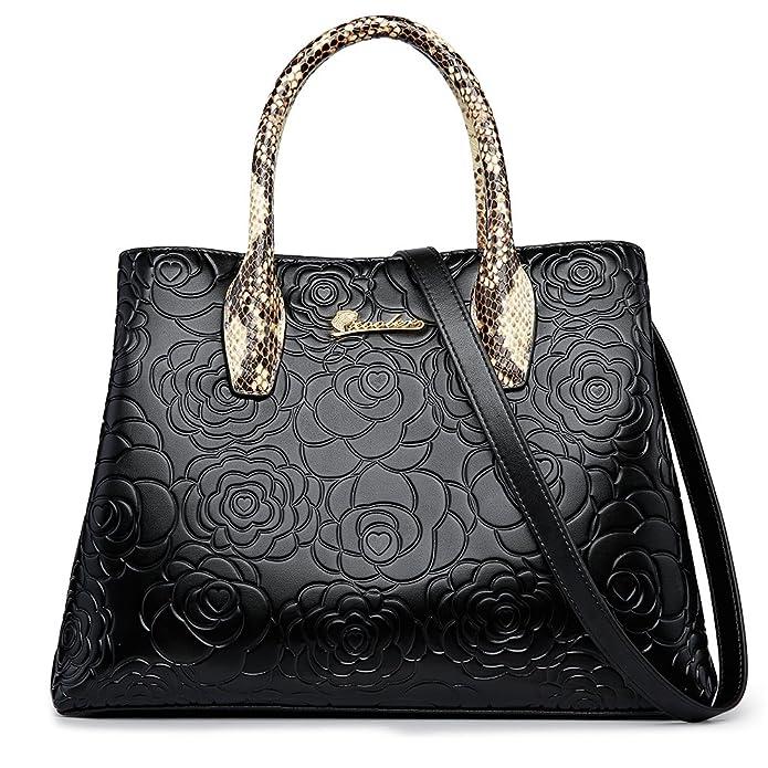053026c91eeb Amazon.com: ZOOLER GLOBAL Womens Leather Handbags Top Handle Bag ...
