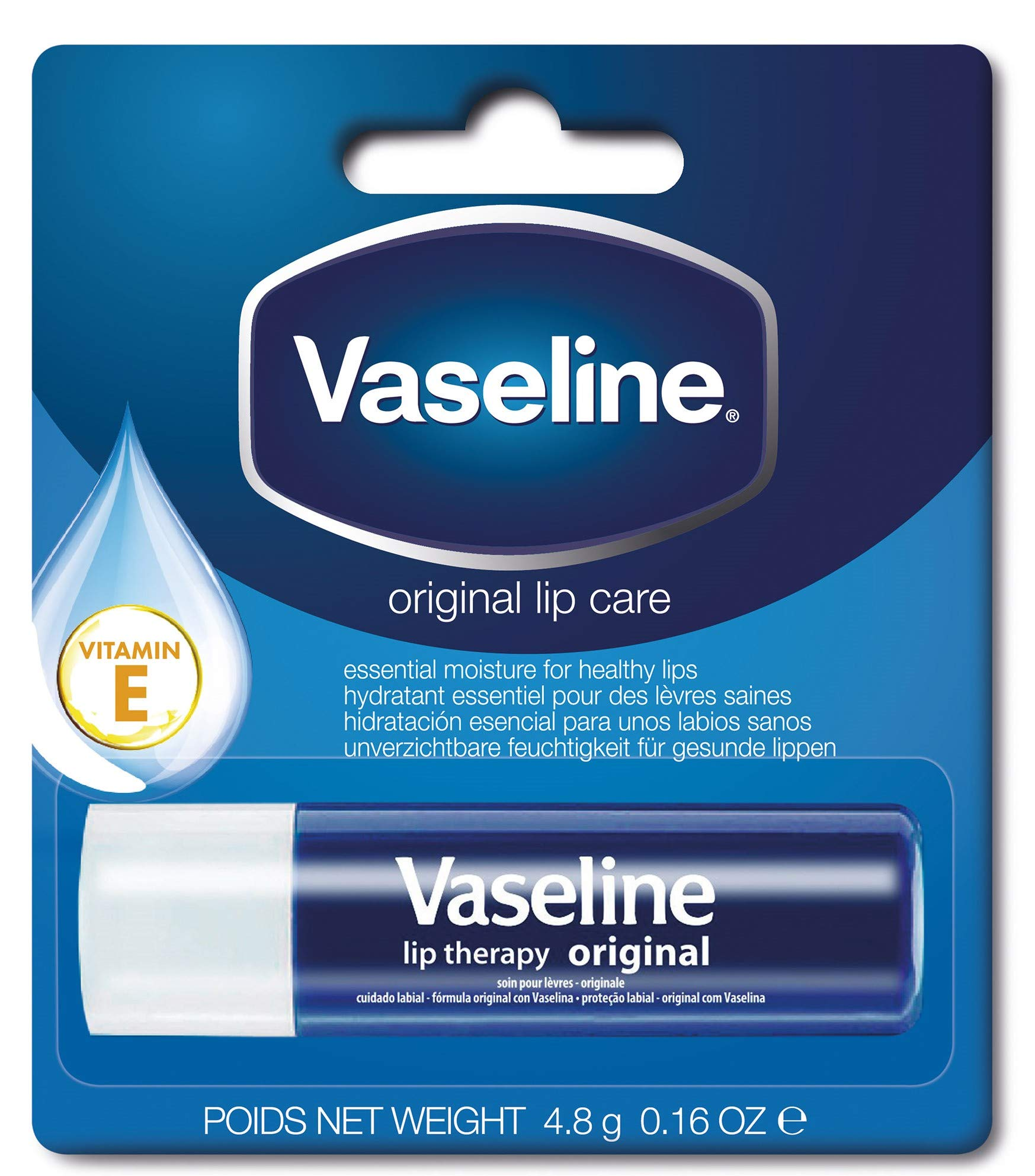 Vaseline Lip Therapy Original Balm, 4.8 gms