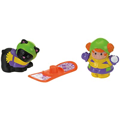 Fisher-Price Little People Snowboardings: Toys & Games