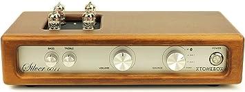 Xtonebox Silver 6011 Amplificador a válvulas Integrado para música ...