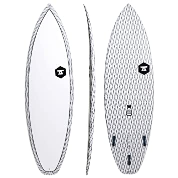 Salero 7s carbono Vector Tabla de surf, color blanco, blanco