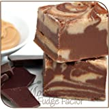 Mo's Fudge Factor, Chocolate Peanut Butter Fudge 8 Ounces