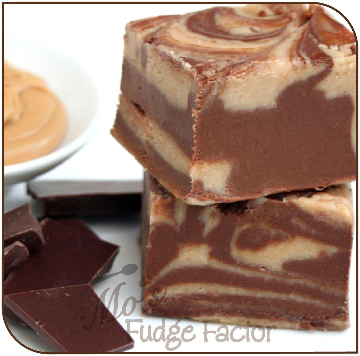 Mo's Fudge Factor, Chocolate Peanut Butter Fudge 2 pounds
