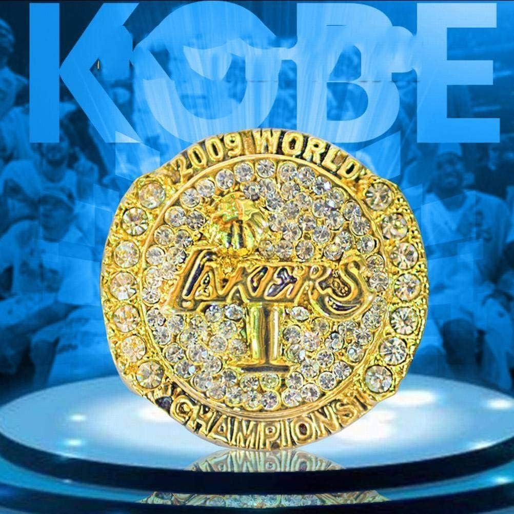 10 C-G Championnat Rings 2016 Lakers Kobe Bryant Retraite du 20E Anniversaire des Fans pour la Saint-Valentin dor