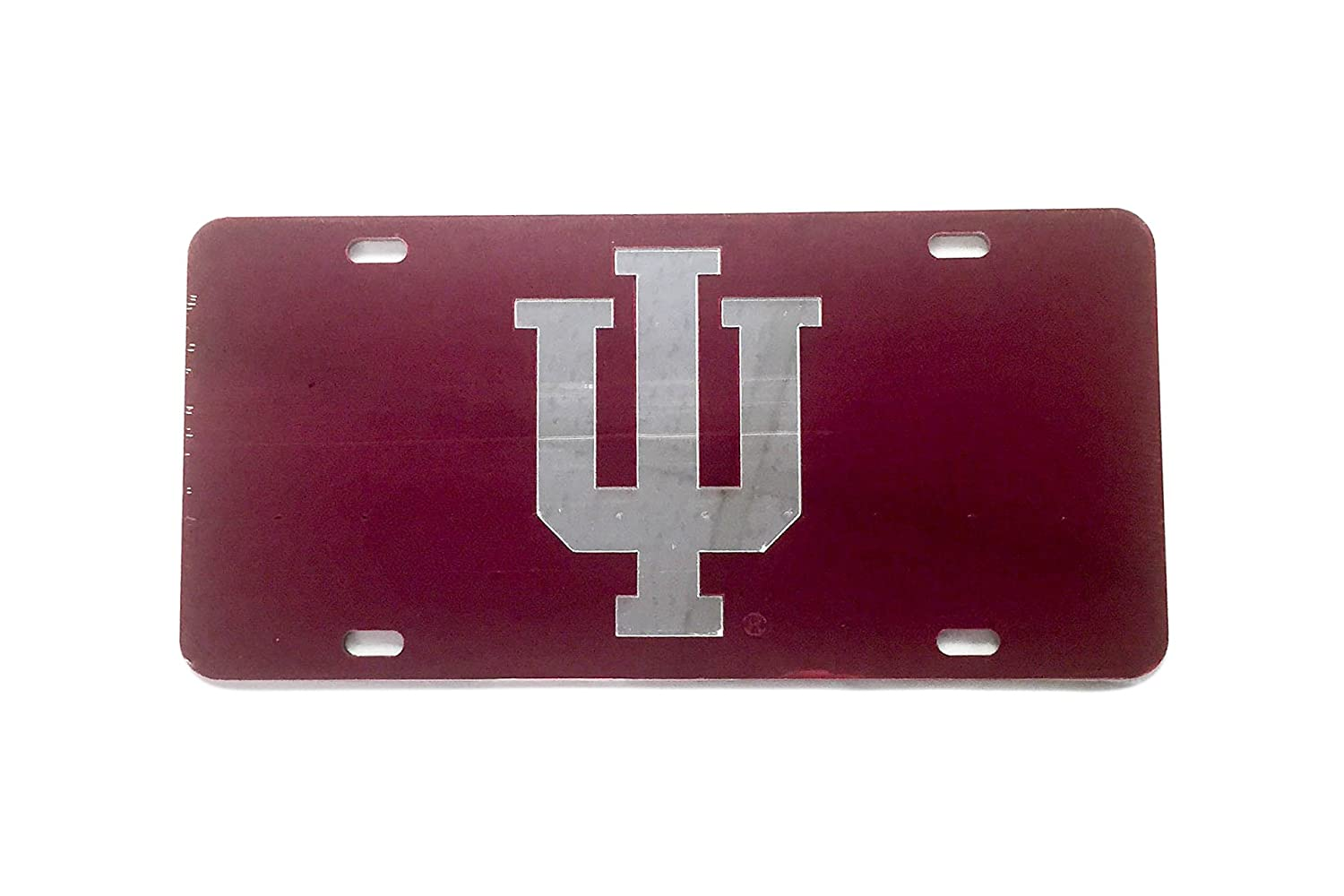 Amazon.com: Indiana University License Plate Frame/Tag For Front ...