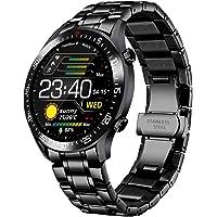 LIGE Smart Watch Fashion Classic Acero Inoxidable Fitness Sport IP68 Reloj Impermeable con Monitor de frecuencia…