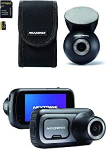 "Nextbase 422GW Dash Cam 2.5"" HD 1440p Touch Screen Bundle Kit (Rear Window Camera, Carry Case and 32GB U3 MicroSD Card Included)"