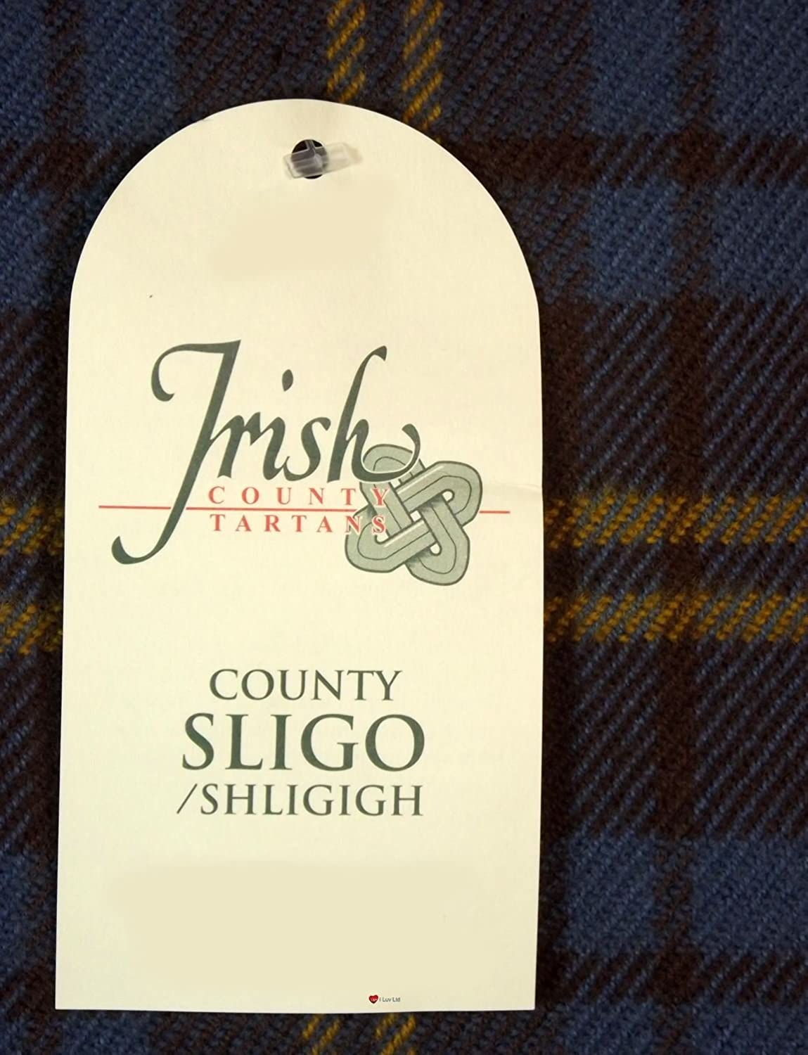 100/% Lambswool Scarf in Irish County Sligo Tartan
