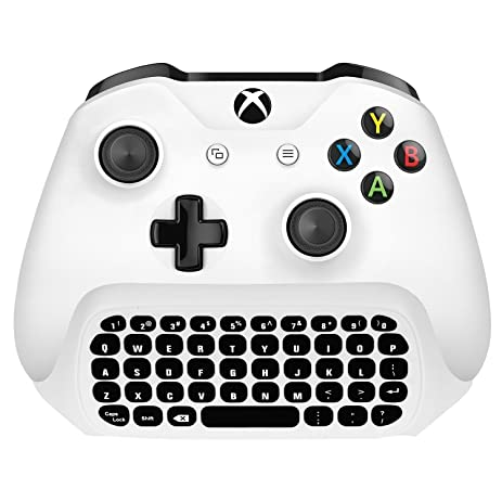 Amazon LeSB Xbox One Wireless Chatpad Keyboard With 35mm Audio