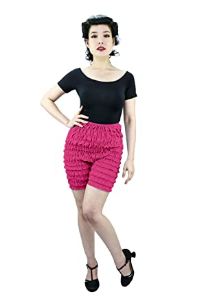 46b97c1cd082c Malco Modes Womens Ruffle Panties Bloomers Dance Bloomers for Sissy  Victorian (X-Small,