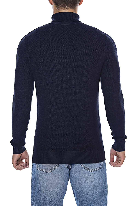 Rocorose Mens Long Sleeve Essential Turtleneck Sweater Pullover