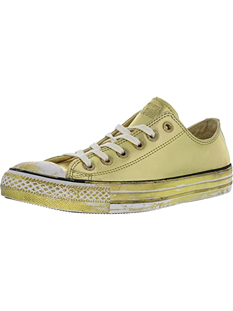 2999f70d761a Converse Womens All Star Patent Leather OX Black Low top Trainers   Amazon.co.uk  Shoes   Bags