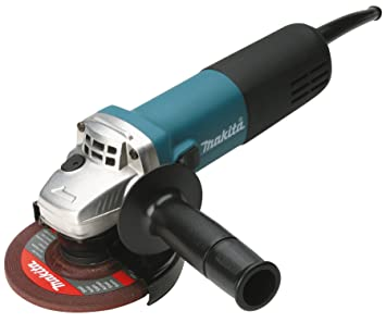 Makita 9558hnrg Winkelschleifer 125 Mm 840 W Amazon De Baumarkt