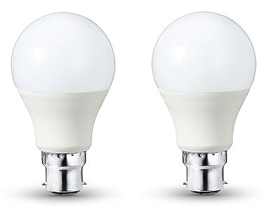 AmazonBasics - Bombilla LED B22, 9 W equivalente a 60 W, 806 lúmenes,