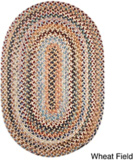 product image for Rhody Rug Augusta Oval Braided Wool Rug by (8' x 11') Taupe