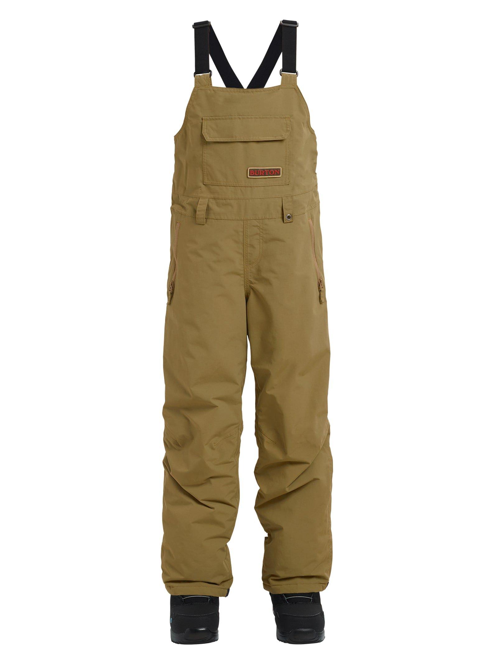Burton Kids' Skylar Bib Snow Pant, Kelp, X-Small